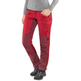 Lundhags Makke - Pantalones de Trekking Mujer - Regular rojo